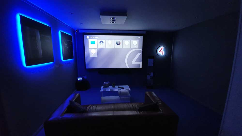 Control4 Showroom Cinema