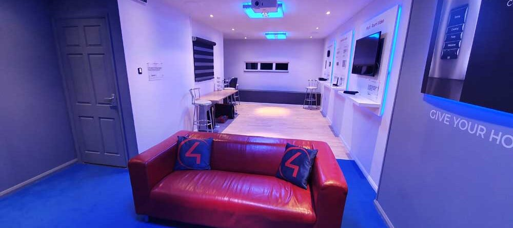 Main Showroom Area