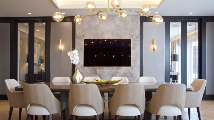 Control4 Controlled Dining Room